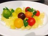 彩トマトのベルジャンマリネ