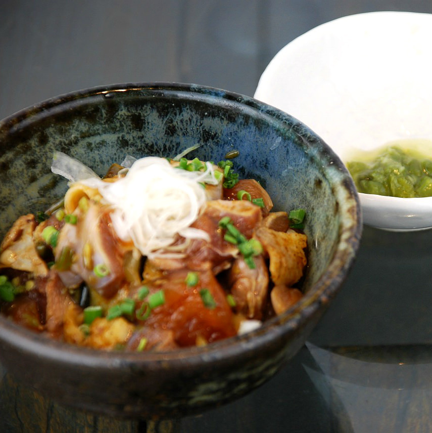 薩摩赤鶏の皮ポン・とりわさ・タタキ