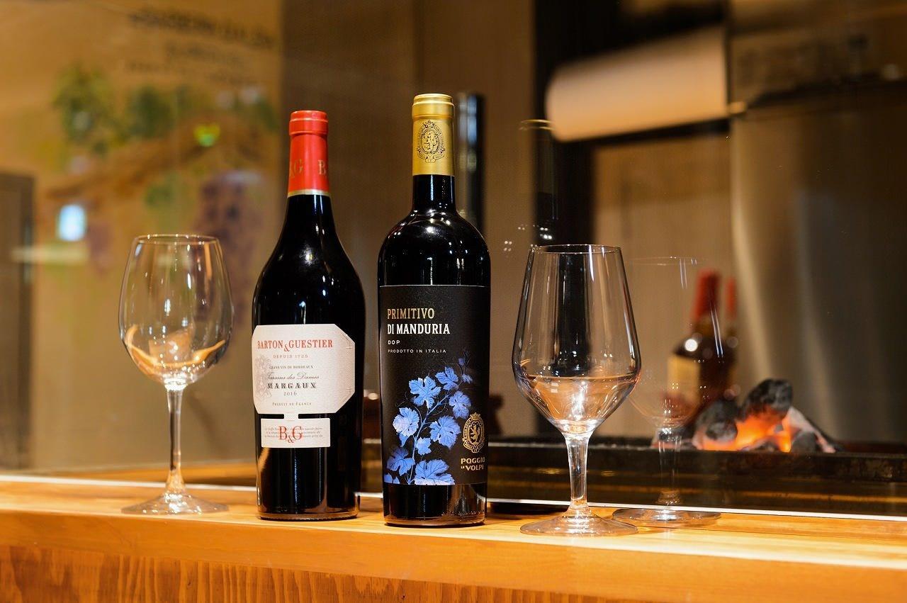 焼き鳥とワイン