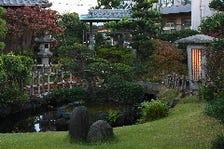 季節の移り変わりを感じられる大庭園