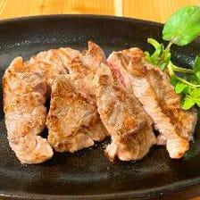 食べ応え抜群の肉料理!
