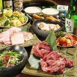 宴会には、コスパ推しのコースとこだわり和牛のコースなど 盛りだくさんのラインナップをご用意。