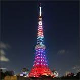 (東京人気スポット)東京タワー、他