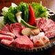 お得な!しあわせ盛/和牛バラ2種・和牛モモ・大山鶏4,300円
