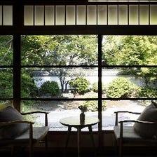 徳川庭園の散策、美術館見学とともに