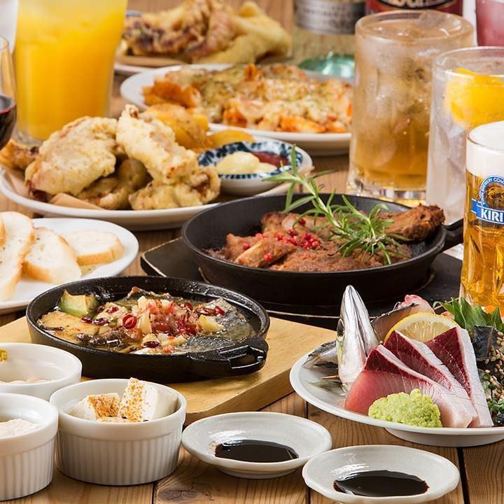 志賀島の食材が輝くお料理で宴会を