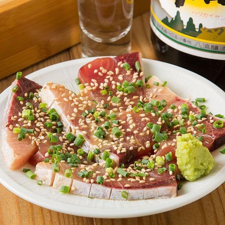 新鮮魚介を使用した逸品と日本酒を合わせカジュアルな晩酌を