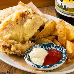志賀島鮮魚のフィッシュ&チップス