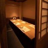 【テーブル個室】 6~8名様のグループ宴会にご好評です!