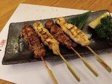 伊達鶏と川俣しゃもの食べ比べセット 4本