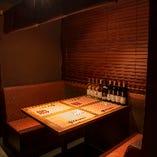 半個室【2~4名様】記念日のお祝いや、大切な接待、会食に