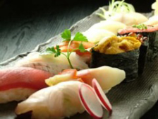 職人が握る 本格生寿司食べ放題