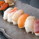 10種の寿司食べ放題★ しゃぶしゃぶ&寿司食べ放題ご用意。