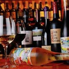福島のお酒とこだわりのワイン!!