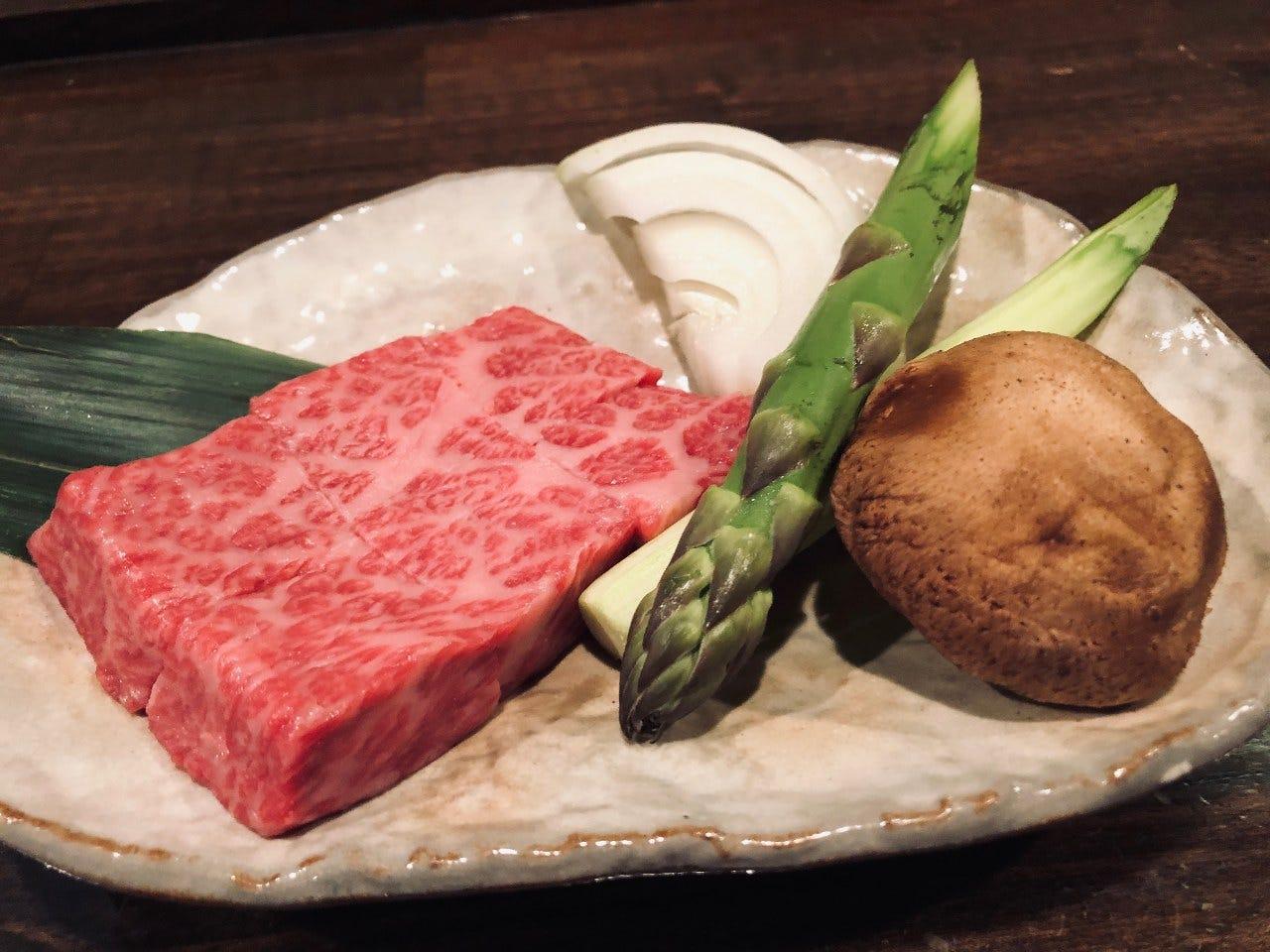うかい霜降り和牛ステーキ贅沢6,000円コース☆