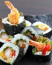 海老の天巻き寿司