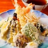 天ぷら七品盛合せ