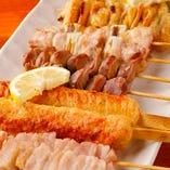 ◆[食べ放題]串焼き各種