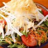 カリカリ大根サラダ