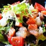 【2】海鮮カルバッチョ