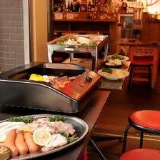 ◆池袋で屋内BBQ&ビアガーデン♪