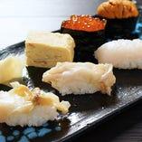 生寿司盛合せ-鳳(おおとり)-【五貫】