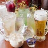 アルコールもノンアルコールも充実の品揃え