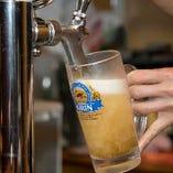 何杯頼んでも、生ビールは1杯390円(税抜)!キンキンに冷やしたグラスでご提供いたします★