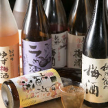 種類豊富な梅酒も自慢!約20種類が揃います。爽やかなソーダ割りは焼肉とも相性ぴったりです♪