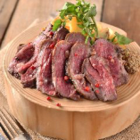 牛ハラミ肉のグリル