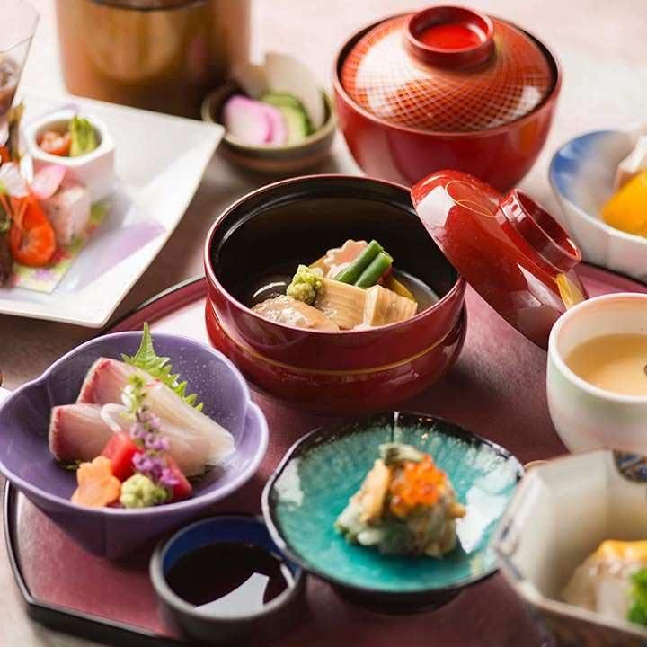 夜のミニ会席【珠姫】〈全11品〉4,180円(税込)|気軽にお楽しみいただける会席料理。観光のお食事にどうぞ