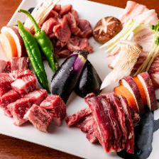 北海道 四種の肉盛り