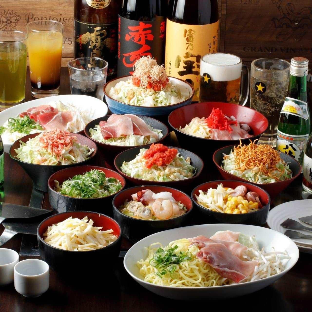 お腹も心も大満足間違いなしの食べ飲み放題コースがおすすめ