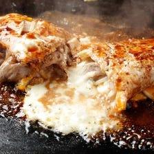 明太チーズとん平