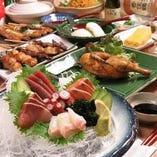 鮮魚と焼とり酒場 花火