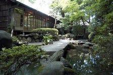 野趣あふれる日本庭園