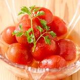 「冷やしトマト」