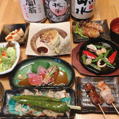 鉄板串焼き 咲蔵  コースの画像