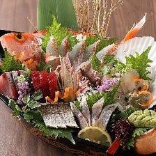 厳選した鮮魚を様々なお料理で満喫