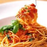 フレッシュトマトのポモドーロ