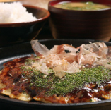「豚玉定食700円」豚玉+小ライス+味噌汁+お漬物等。(11:30~13:30)※売り切れ終了。