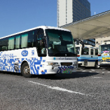 岡山駅西口バスターミナルから徒歩3分(岡山済生会総合病院方面へ)