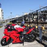 【バイク】岡山駅西口駐輪場 ※当店との提携なし