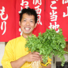岡山パクチー生産者:植田輝義さん