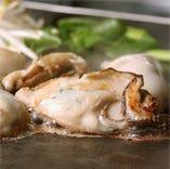 カキの鉄板焼き(冷凍カキ使用※瀬戸内海産)