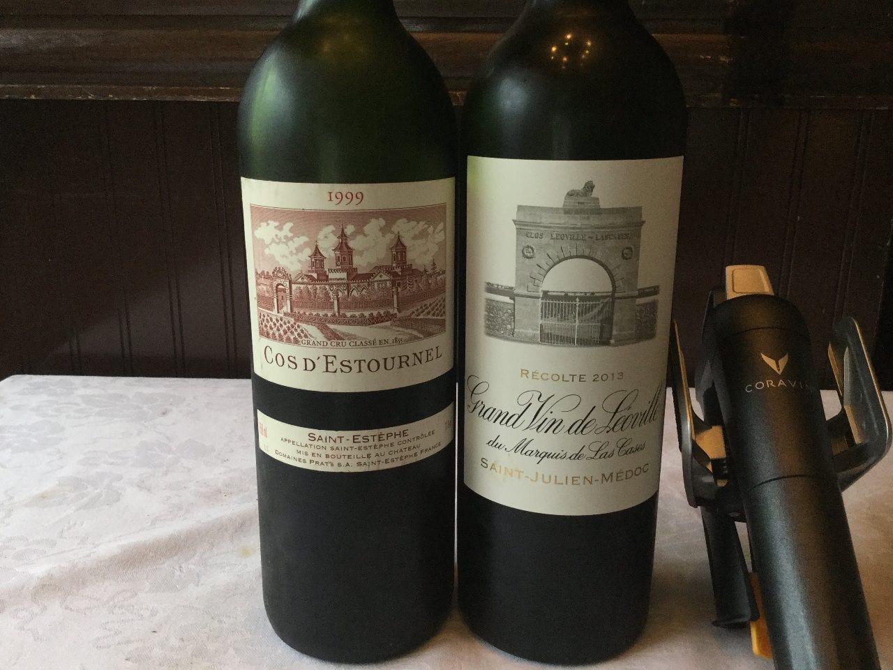 コラヴァンでのグラスワイン