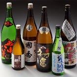 きき酒師おすすめの日本酒も多数ご用意。