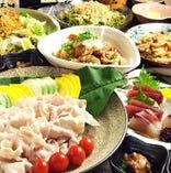 季節の食材と合わせ創作した宴会コースを是非ご堪能下さい。