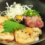 一砂特製ネギトロ豚丼!