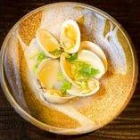 千葉県産 蛤の酒蒸し